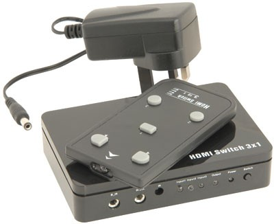HDMI switch 3 inputs/ 1 output