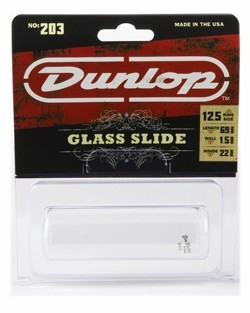 Dunlop 203 Pyrex Glass Slide, Medium Wall, Large