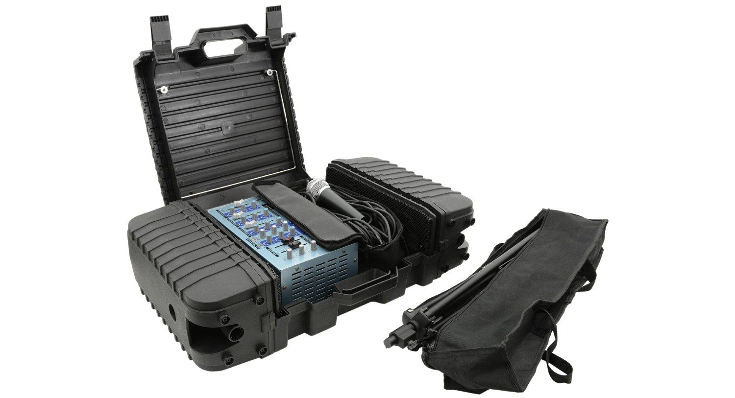 Suitcase PA 100W USB/SD + DSP