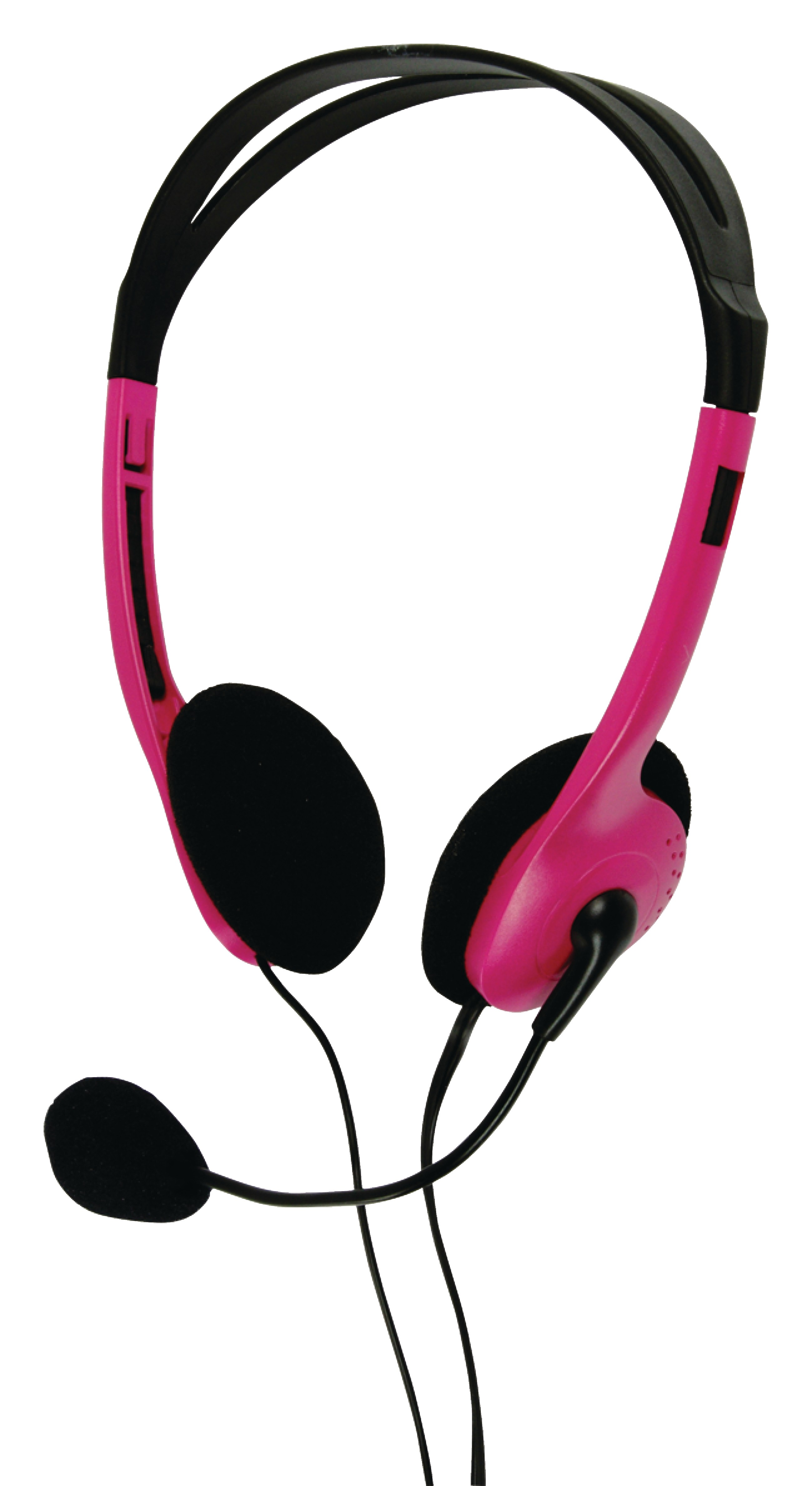 Basic XL stereo headset Rosa