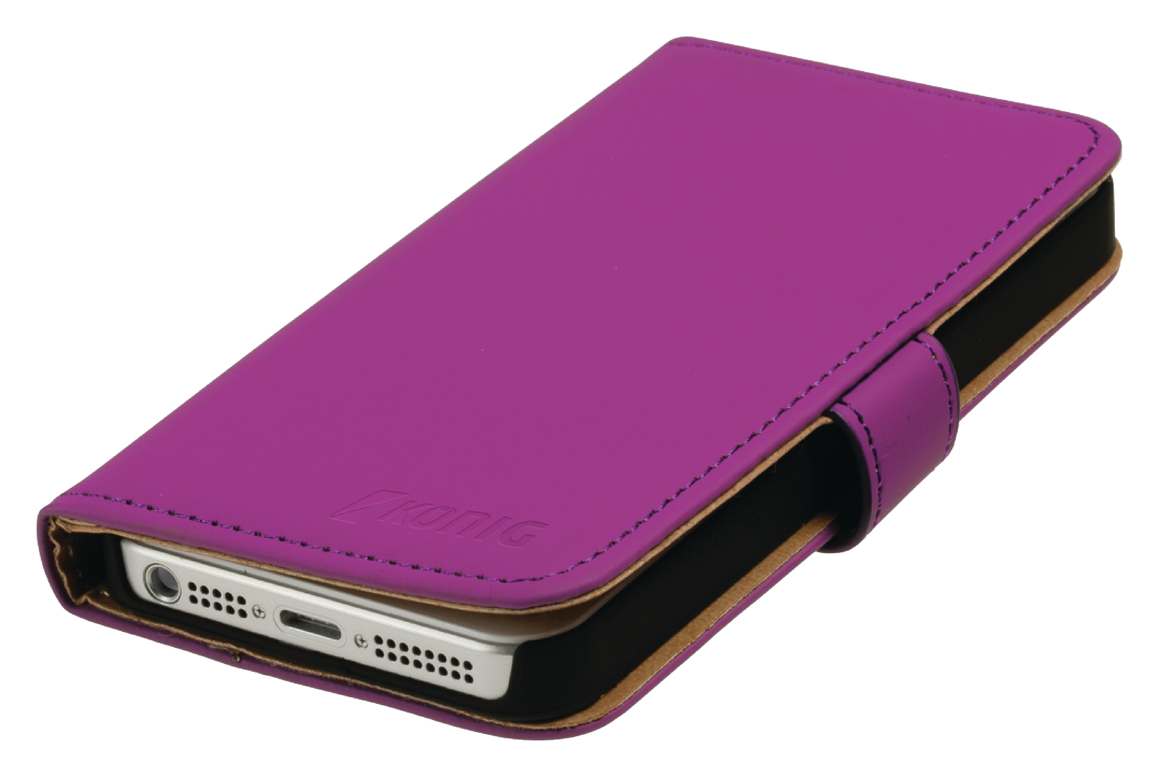 Smartphone Lommebok Bok Samsung Galaxy S5 Rosa