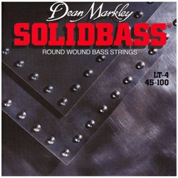 Dean Markley 2650 Solid Bass Light Electric Bass 4 String Set (45-100)