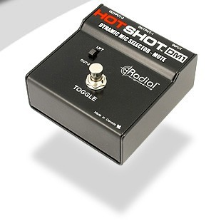 Radial Hot shot DM1, Stage Mic Toggle