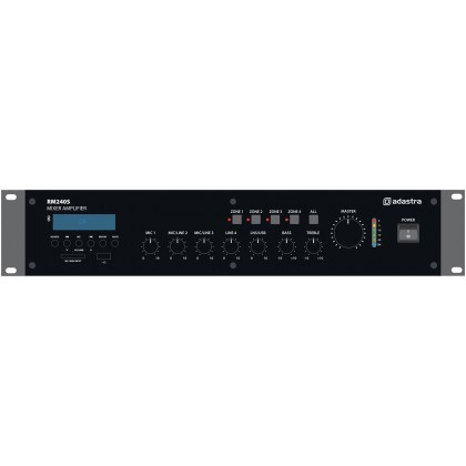 Adastra RM240S 5-channel 100V mixer amplifier