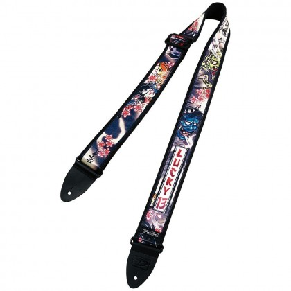 Dunlop Lucky 13 Tattoo Art Strap D38-20LS L 13 JAPN TAT-EA Japan Tatoo Strp