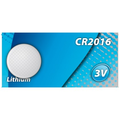HQ - CR2016 3V LITIUM-BATTERI