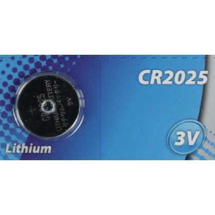 CR2025 lithium battery 3 V 150 mAh