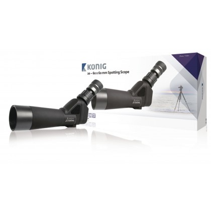 Rain- and fogproof spotting scope with 20 ~ 60 x zoom