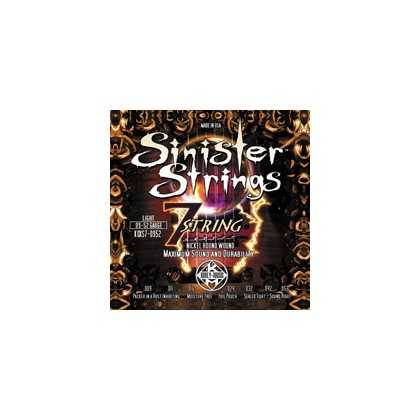 Sinister Strings Light 09-52 7 strengs KQXS7-0952