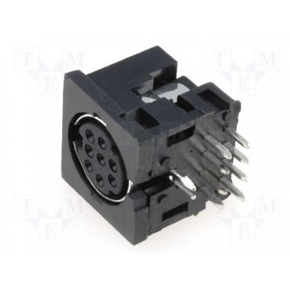 8P MINI DIN CHASSIS SOCKET MDC-208