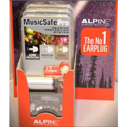 Alpine MusicSafe Pro Ørepropper Silver/White
