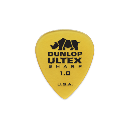 Dunlop 433P 1.0 Ultex Sharp Players Pack (6)